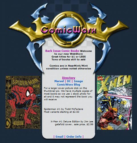 ComicWorx Website