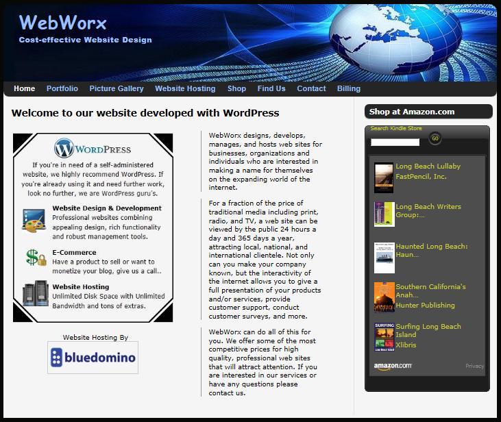 WebWorx Website